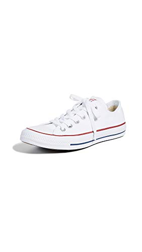 Converse Chuck Taylor All Star Ox, Zapatillas Unisex Adulto, Blanco (Optical White), 42.5 EU
