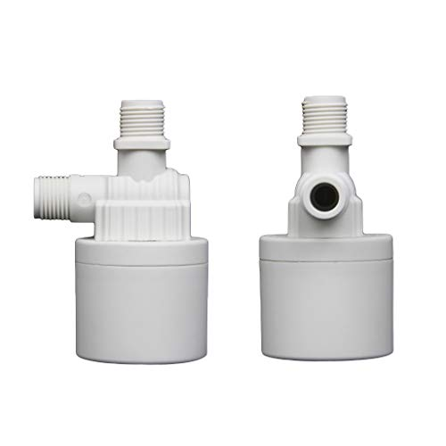 YUZI 1 PACK 1/2' 3/4' 1' Automatic Water Level Control Valve- Tower Tank Floating Ball Valve-