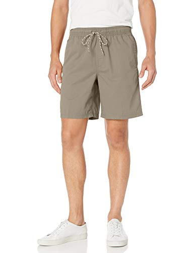 Amazon Essentials Drawstring Walk Short, Beige (Khaki), Medium