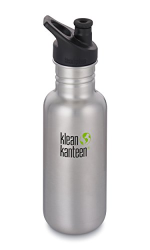 Klean Kanteen Botella Clásica 18oz, Brushed Stainless