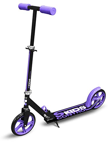 Foldable Adjustable Scooter 200mm with Kickstand SKIDS Control