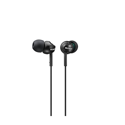 Sony MDR-EX110LP - Auriculares in-ear, negro