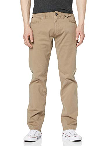 Lee Extreme Motion Straight Pantalones, Cougar, 30W / 30L para Hombre