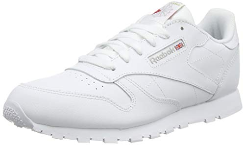 Reebok Classic Leather, Zapatillas de Running Niños, Blanco (White), 37 EU