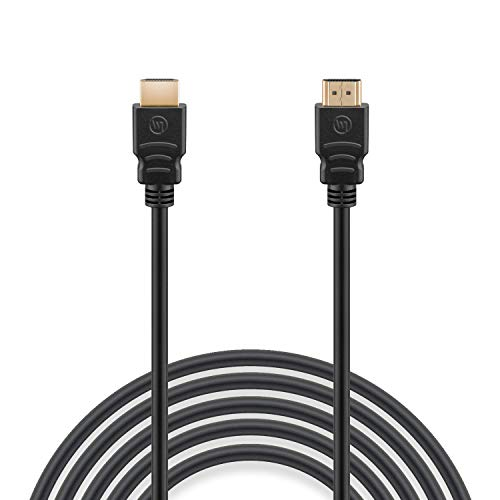 Wicked Chili - Cable HDMI 2.1 (1 m, 8 K, 60 Hz, 4 K, 120 Hz, Ultra High Speed HDMI con Ethernet, UHD II 7680 x 4320, HDR, eARC, 3D, Compatible con PS5, Xbox Series X, Gaming PC, Sonos ARC)