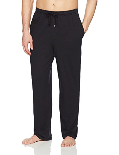 Amazon Essentials Knit Pajama Pant Bottoms, Negro, US M (EU M)