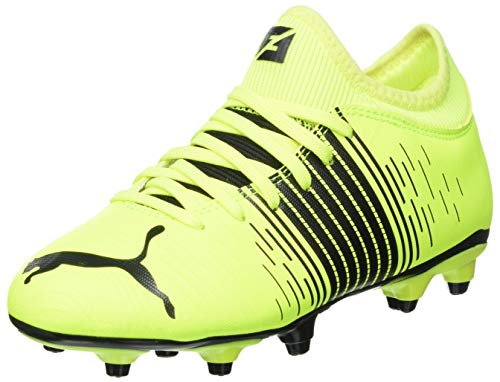 Puma Future Z 4.1 FG/AG JR, Zapatillas de fútbol, Yellow Alert Black White, 37 EU