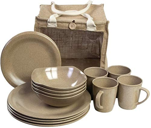 HIGHLANDER 16PC Picnic Set ECOLÓGICO