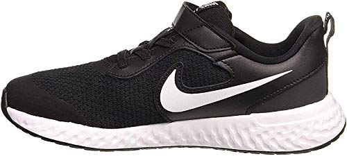 Nike Revolution 5, Running Shoe, Black/White/Anthracite, 30 EU