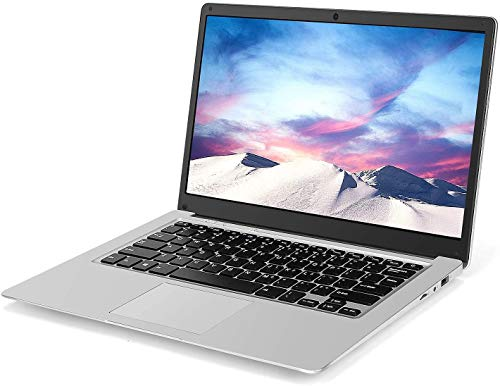 Laptop de 14 Pulgadas (Intel Celeron J3455 de 64 bits, 8GB DDR3 RAM, SSD de 128GB, batería de 10000mAH, cámara Web HD, Windows 10, Pantalla 1366 * 768 FHD IPS)