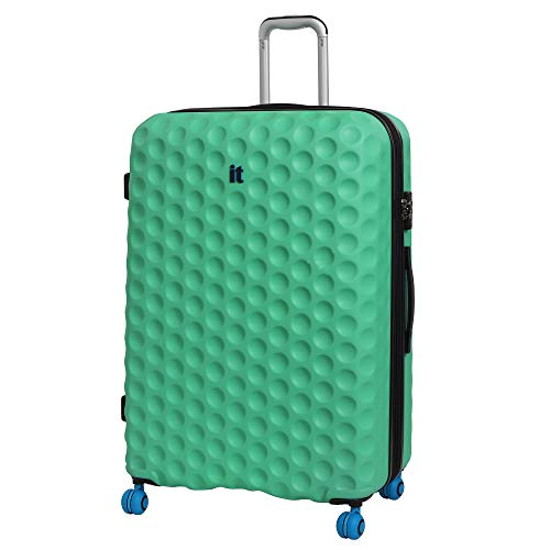 it luggage Bubble-Spin 4 Wheel Hard Shell Single Expander Suitcase Large with TSA Lock Maleta, 79 cm, 159 Liters, Verde (Biscay Green)