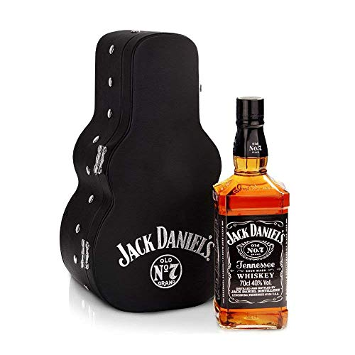 Jack Daniels - Old No. 7 Guitar Case (Hard To Find Whisky Edition) - Whisky