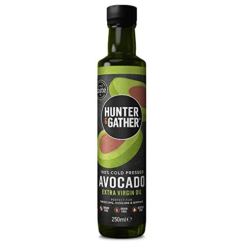 Hunter & Gather Puro, Virgen, Prensado En Frío Aceite de Aguacate 250ml
