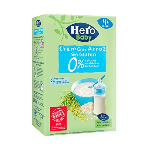 Hero Babynatur - Crema De Arroz 220 g
