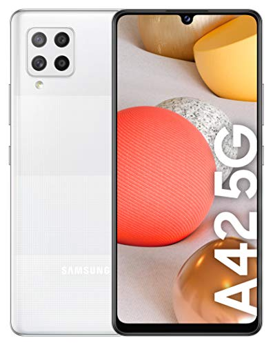 Samsung Galaxy SM-A426B 17,3 cm (6.8') 128 GB 5G Blanco 5000 mAh Galaxy SM-A426B, 17,3 cm (6.8'), 2,2 GHz, 128 GB, 48 MP, Blanco