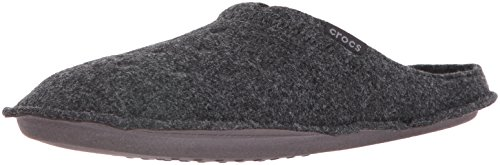 Crocs Classic Slipper, Zapatillas de Estar por casa Unisex Adulto, Negro (Black/Black), 39/40 EU