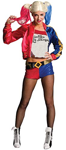 Rubie's Official Harley Quinn Suicide Squad para mujer, Talla L (14-16)