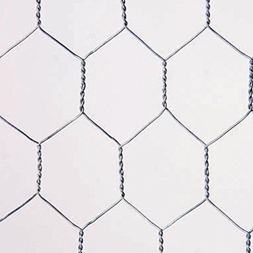 Catral 55020018 - Malla Galvanizada Hexagonal, 100x300x4 cm, color plata
