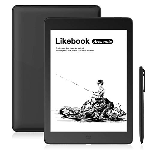 """Likebook Ares-Note E-Reader, 7.8"""" Eink Carta Screen, Dual Touch, Hand Writing, Built-in Cold/Warm Light, Built-in Audible, Android 8.1, Octa Core Processor, 2GB+32GB"""