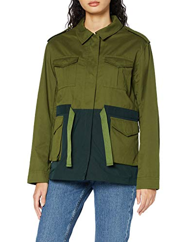 Scotch & Soda Two Tone Field Jacket in Technical Quality Chaqueta, Combo A-0217, M para Mujer