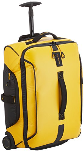Samsonite Paradiver Light Borsa con Ruote Unisex, Giallo (Yellow), S (55cm-48.5L)