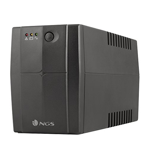 UPS Off-Line 360W Fortress 900 V2. Color Negro. NGS