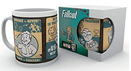 GB Eye Fallout 4 Vault Posters - Taza, 300 ml