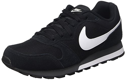 Nike MD Runner 2, Zapatillas Hombre, Negro (Black/White Anthracite), 40 EU