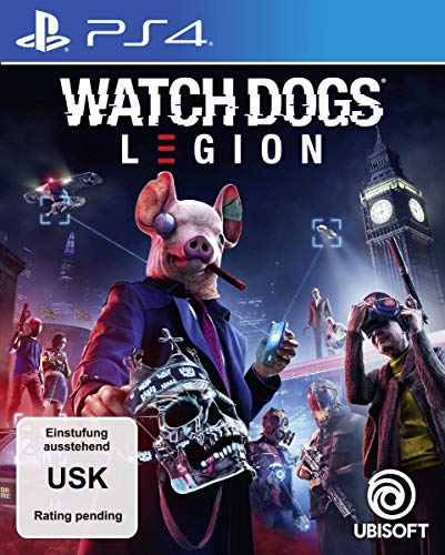 Watch Dogs Legion Standard Edition - PlayStation 4 [Importación alemana]