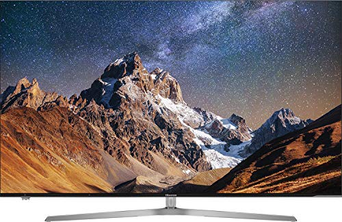 Hisense H50U7A - TV Hisense 50' ULED 4K Ultra HD, HDR Perfect, Smart TV VIDAA U, Local Dimming, Diseño metálico sin marcos, Grosor ultrafino (8,9 mm), Modo Deportes