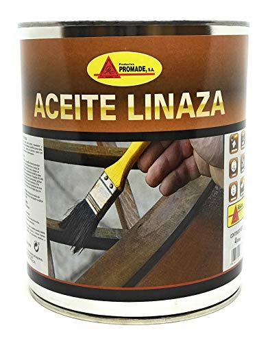 PROMADE - Aceite linaza Cocido 100% Puro 750 ml