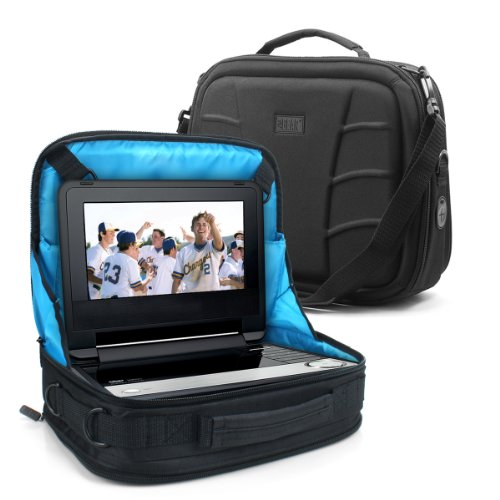 Accessory Power DVD-NET - Soporte para Tablet o DVD, Funda de Viaje para Coche por USA Gear