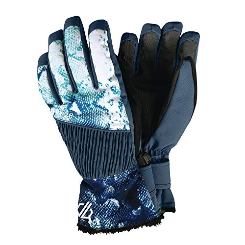 Dare 2b Daring Waterproof Breathable Thinsulate Lined Insulated Ski and Snowboard Glove with Adjustable Cuffs Guantes, Mujer, ala Azul, L