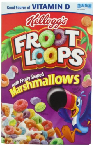 Kelloggs Froot Loops Marshmallow 357 g
