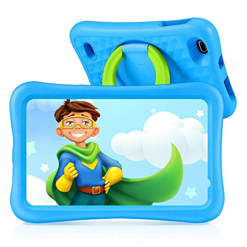 Vankyo Tablet para Niños con Cámaras de 5MP y 2MP, Tablet Infantil con ROM de 32GB, Tablet Niños con WiFi Processore Quad-Core, Android 9.0, RAM de 2GB (Azul)