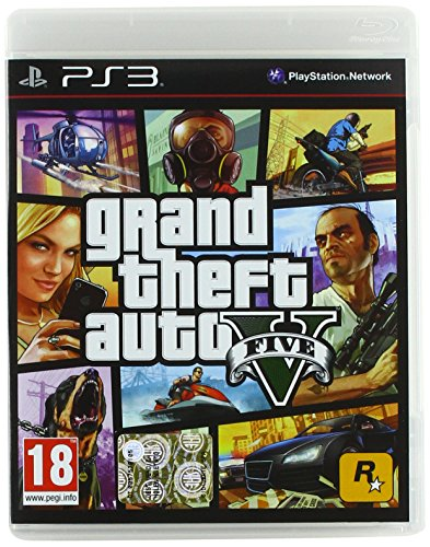 Grand Theft Auto V (GTA 5) [Importación italiana]