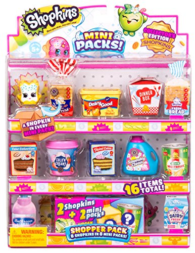 Shopkins Temporada 10 Mini Pack - Shopper Pack